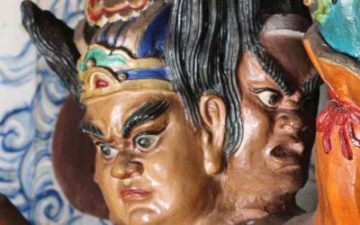A Taoist exorcism séance
