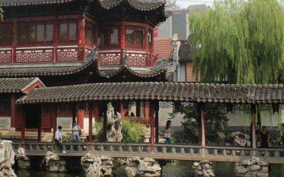 Yu garden in Shanghai: Archetype of Chinese garden