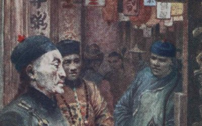 DRAMATIC ART IN CHINA AT THE END OF THE DYNASTIC REGIME