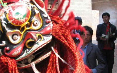 THE LION-DANCE AS RELIGIOUS DANCE