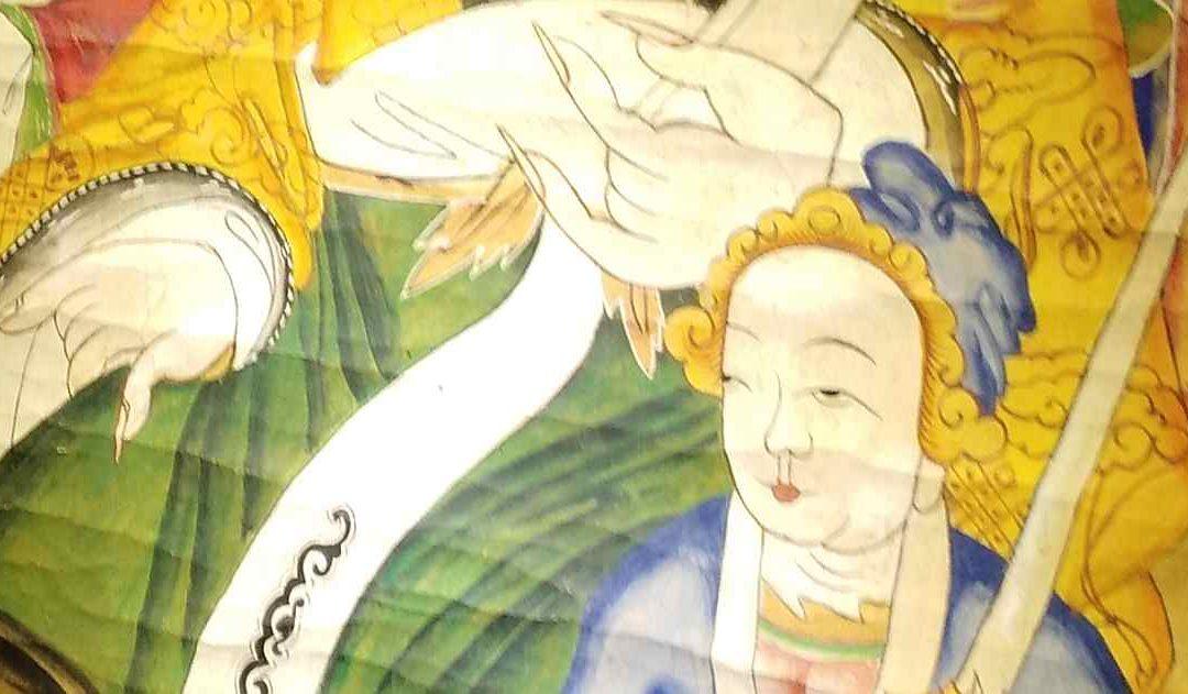 Two stories of Liu Ba, the Bai trickster