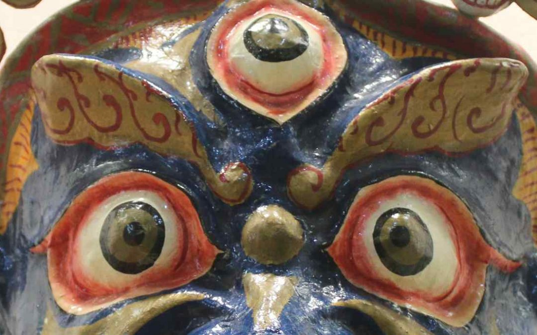 Mask of the Protector Palden Lhamo