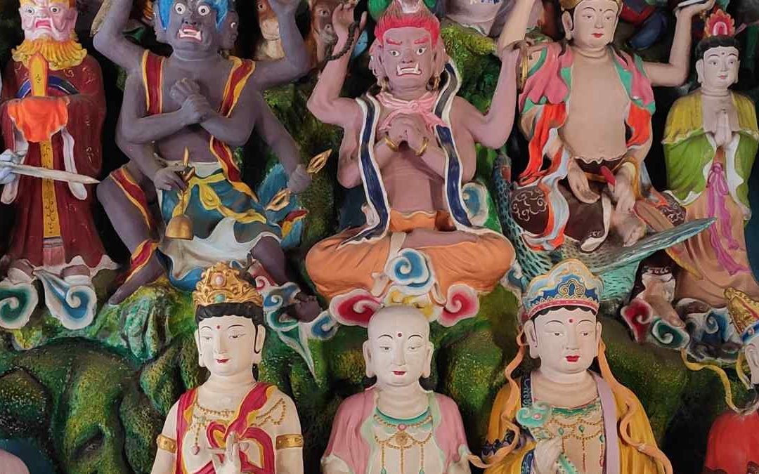 The Zhunti Temple in Kunming, a cult to a mysterious goddess