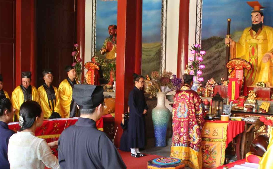 Duanwu Festival at a Taoist temple