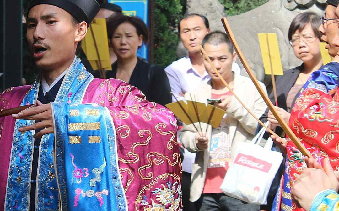 Taoist ceremony of repaying the debt